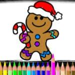 Colorear Galletas de Navidad