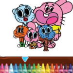 Colorear Gumball