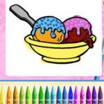 Colorear Helados