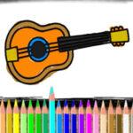 Colorear Instrumentos de Música