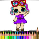 Colorear Muñecas LOL