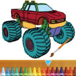 Colorear Monster Truck