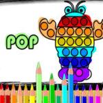 Colorear Dibujos de Pop It