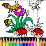 Colorear Dibujos de Primavera
