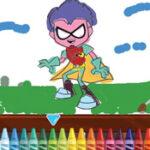 Colorear Teen Titans
