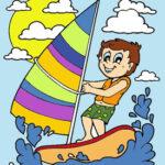 Colorear Dibujos de Verano