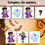 Completar Patrones de Halloween