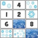 Contar Copos de Nieve y Hacer Parejas