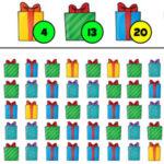 Contar los Regalos de Navidad