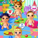Cuidar 4 Bebés en la Guardería