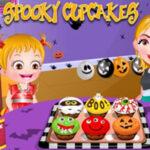 Cupcakes de Halloween con Baby Hazel