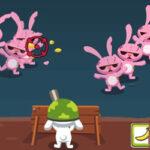 Defensa Zombi con el Conejito