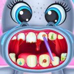 Hipopótamo en el Dentista