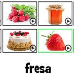 Descifrar Nombres de Alimentos en Español