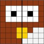 Dibuja la Simetría en la Cuadrícula