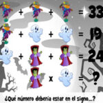 Acertijos Matemáticos de Halloween
