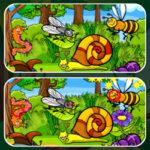 Encuentra las Diferencias: Insectos