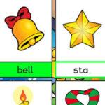 Escribir en Inglés Palabras de Navidad