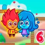 Fuego y agua 6: minijuegos