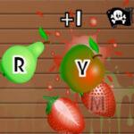 Fruit Slash: Letras del Teclado