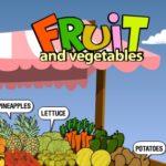 Frutas y Verduras en Inglés