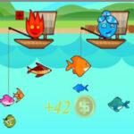 Pesca 2 Jugadores: Fuego y Agua