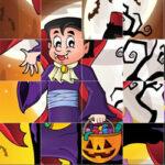 Girapuzzle de Halloween