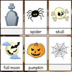 Halloween Flashcards in English
