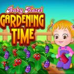 Baby Hazel Cuida el Jardín
