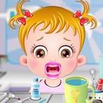 Baby Hazel en el dentista