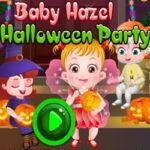 Fiesta de Halloween con Baby Hazel
