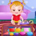 Baby Hazel juega con las Formas