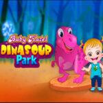 Baby Hazel visita el Parque de Dinosaurios