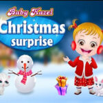 Bebé Hazel y Santa Claus