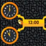 ¿Qué hora es? Con el escarabajo
