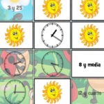 Horas y Relojes de Primavera