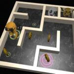 3D Maze and Robot
