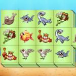 Mahjong Triple de Animales Acuáticos