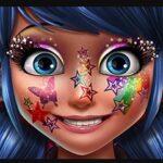 Maquillar a Ladybug Glitter