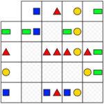 Matriz de Formas Geométricas de Colores