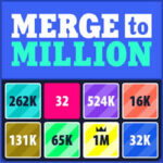 Merge to Million: Potencias de 2