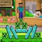 Minecraft Caída en Equilibrio