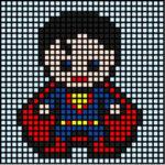 Copiar Mosaicos de Superhéroes