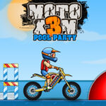 Moto X3M: Fiesta en la Piscina