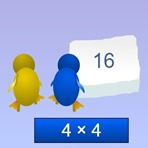 Multiplicar con Pingüinos
