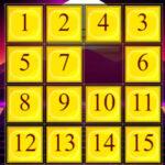 Ordenar Números Puzzle Deslizante