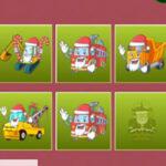 Parejas de Camiones en Navidad