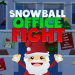 Pelea de Bolas de Nieve en la Oficina