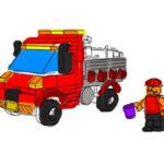 Pintar Camiones Lego
