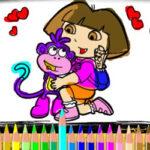 Pintar a Dora la Exploradora